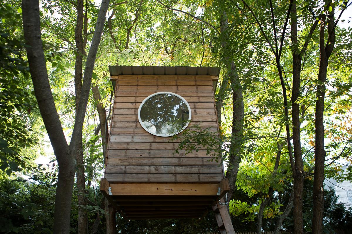 The Tree House, Interior Design, Sticks and Bricks