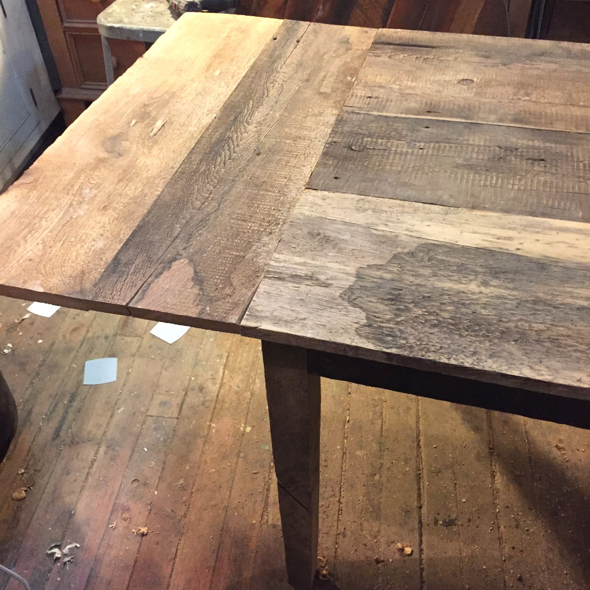 sticks and bricks custom furniture 1 inch farm table with breadboards