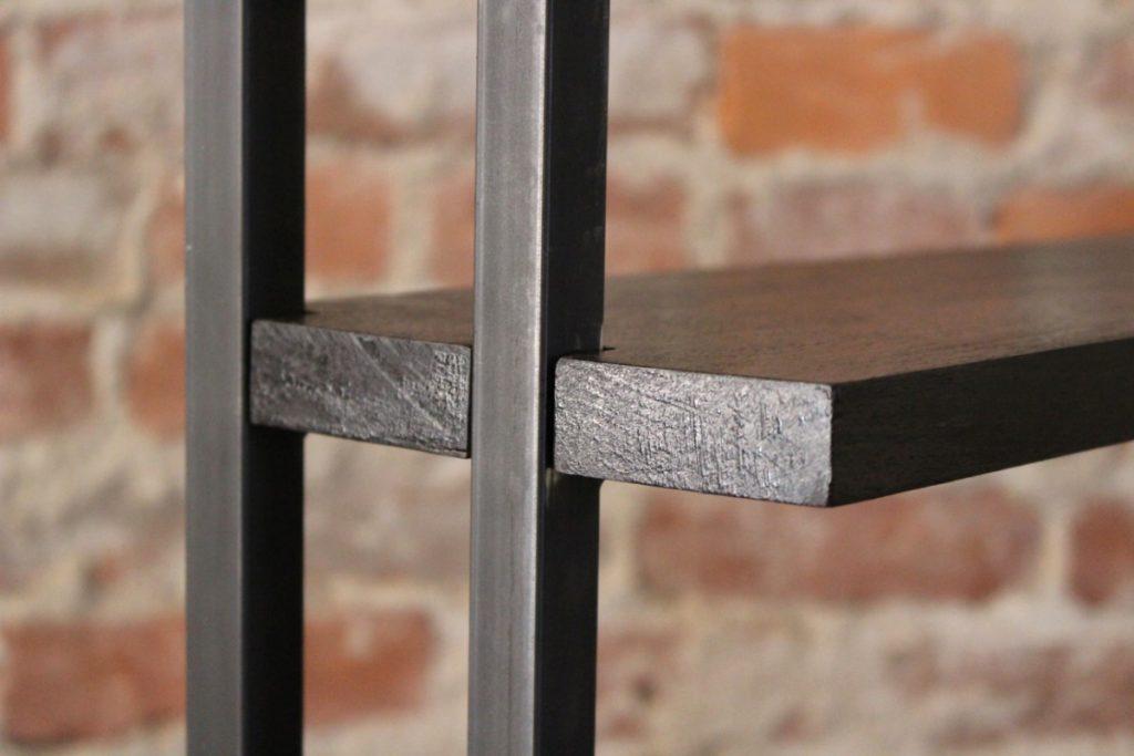 sticks and bricks custom tin and rosewood cabinet